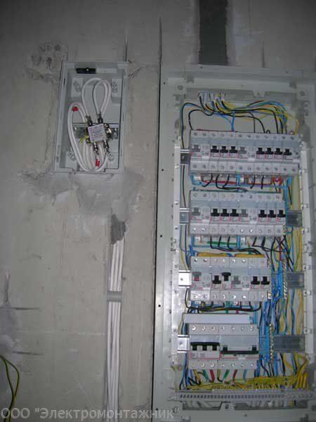 Разводка интернета в квартире